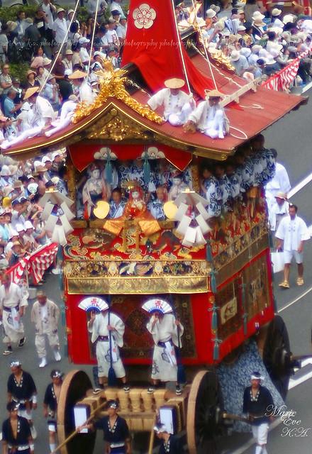 京都 祇園祭 山鉾巡行2013 *長刀鉾