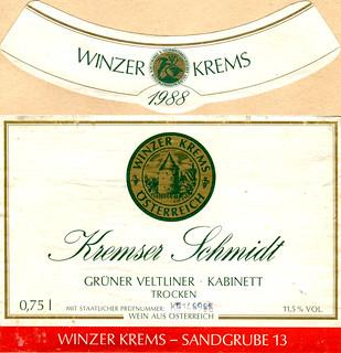 Austria - Kremser Schmidt 1988