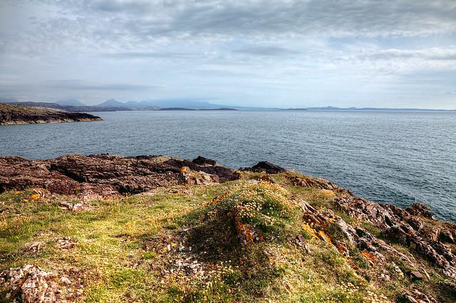 Headland Overlooking Clachtoll Beach