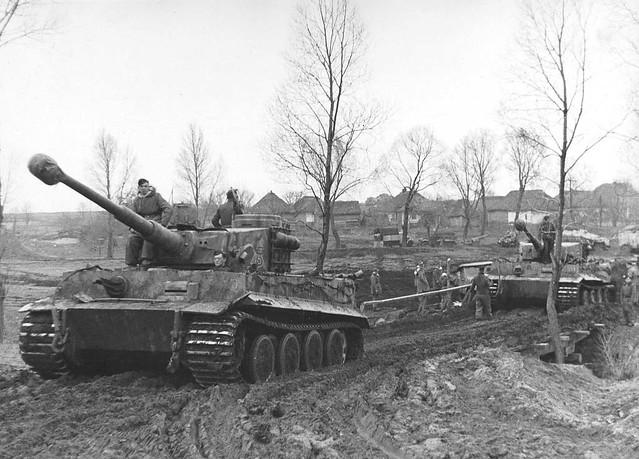 Tanks Pz.Kpfw. VI «Tiger