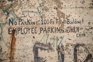 No Parking CRPD | by sullivan1985