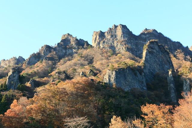 Mt. Myogi. 妙義山