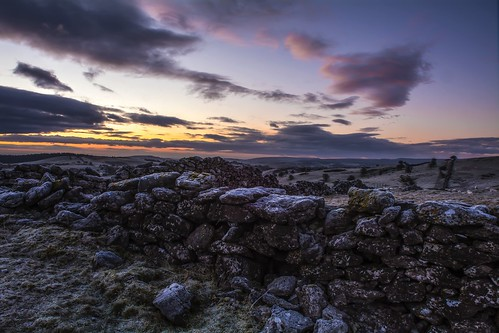 winter sky ice nature weather drywall sunrise frost northwales brynalyn clwydhills nikond7100