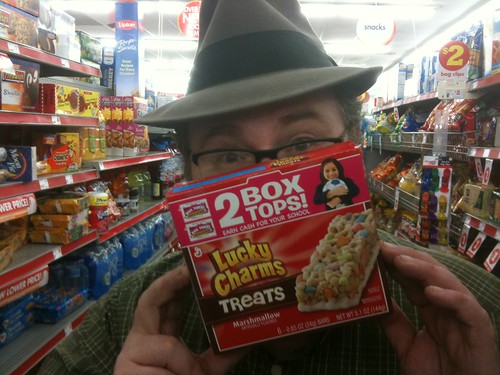 Lucky Charms Treats, Box Tops for Education | by JeepersMedia