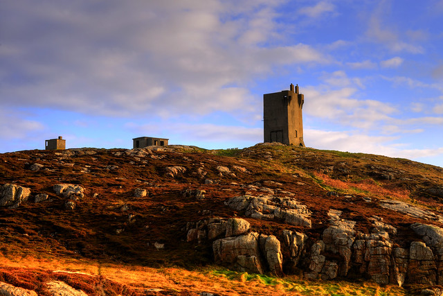 LLOYDS SIGNAL TOWER, MALIN HEAD, MALIN, CO. DONEGAL, IRELAND.