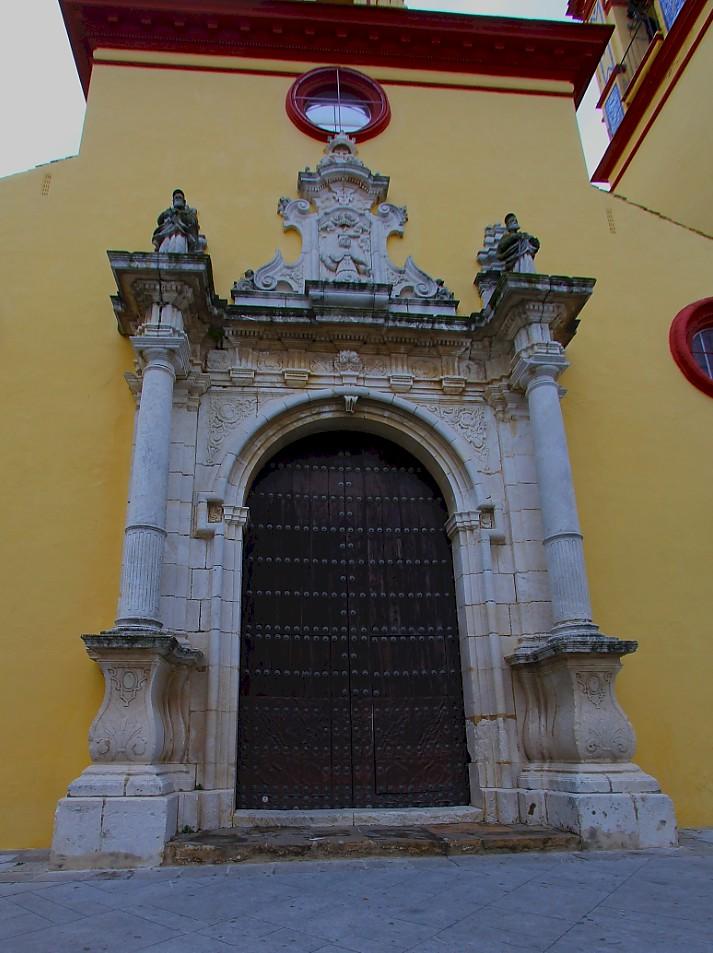 Paradas, Spain - 'Iglesia Parroquial de San Eutropio'