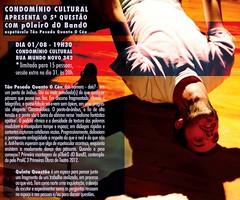 5.ª Questão pOleiro dO bandO - 01-08-2013