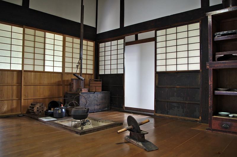 Cuisine d'une ancienne maison de samourai