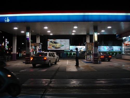 圖02全天候24小時加油站