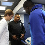May 5, 2016 - 10:36 - Camden County students on the 'BAT' Breath Alcohol Testing Mobile Unit. Credit: Tiffany Mentzer, Camden County Sheriff's Office