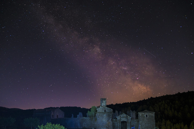 The milky way at Boulogne castle