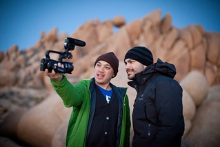 Manfrotto Be Free Tripod ad shoot BTS - Joshua Tree BTS The Bui Brothers | by The Bui Brothers