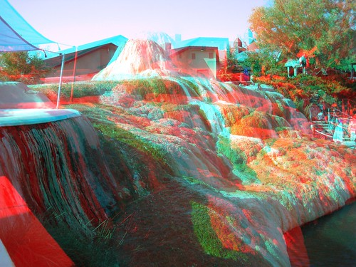 morning usa reflection water canon reflections 3d colorado rocks unitedstates picture anaglyph steam resort formation american springs co waters sulfur redblue pagosa americansouthwest 3dimensional mirrorimages 3dimages anaglyph3d springsresort pagosaspringssunrise