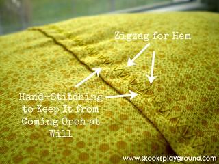 Hand stitching detail | by SkooksPlayground