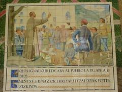 Saint Ignatius preaching in Azpeitia