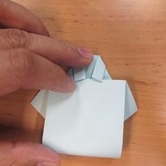 วิธีพับกระดาษเป็นรูปเสื้อเชิร์ต 006