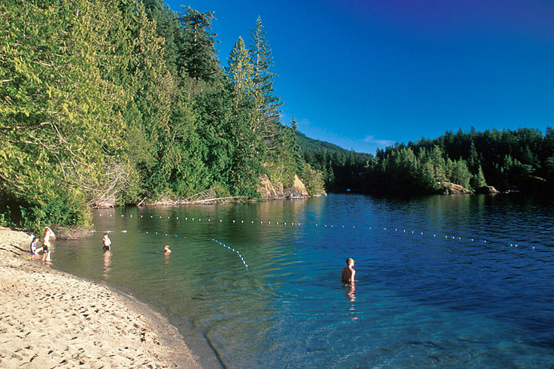 Dan Bosch Regional Park, Earls Cove, Sechelt Peninsula, Sunshine Coast, British Columbia, Canada