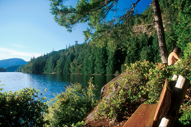Dan Bosch Park, Earls Cove, Sechelt Peninsula, Sunshine Coast, British Columbia, Canada