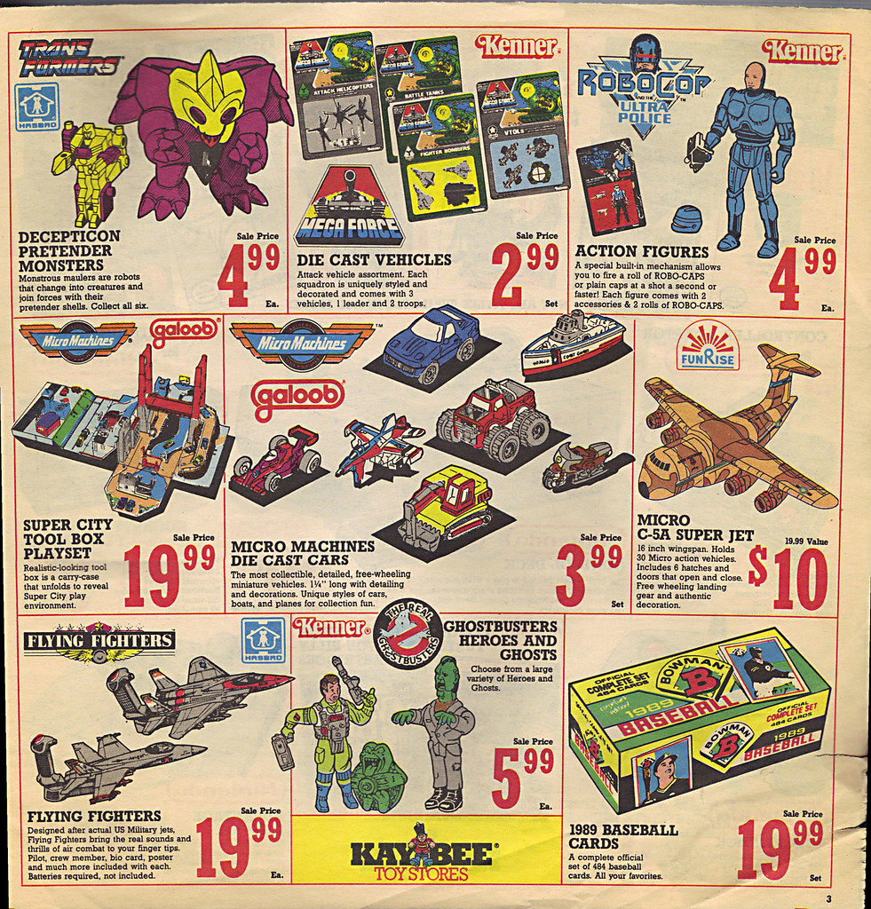 KAY•BEE TOY STORES :: Christmas in October pg.3  (( OCTOBER,8 1989 )) by tOkKa