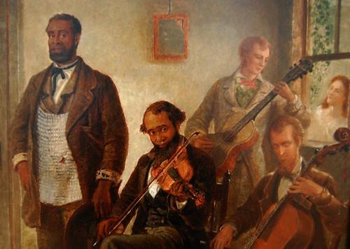 The Musicale, Barber Shop, Trenton Falls, New York (1866 ...