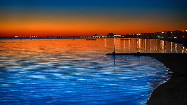 Biloxi Beach Sunset