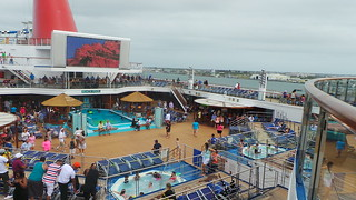 Carnival Sunshine: Pool Deck | by CruiseSource.us
