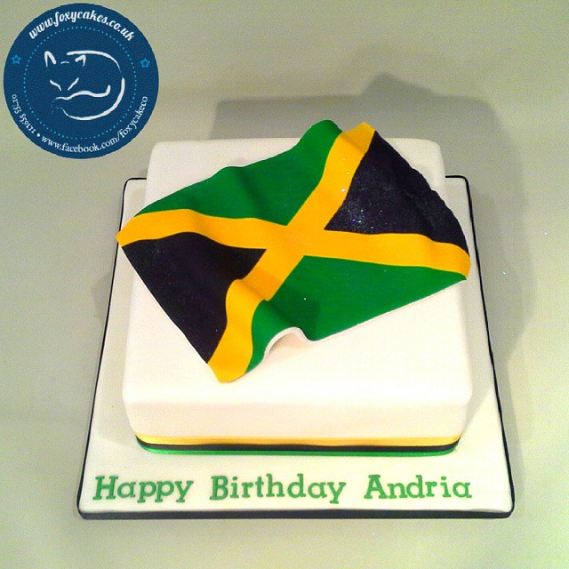 Phenomenal Jamaica Flag Cake Cake Thefoxycakeco Windsor Eton De Flickr Personalised Birthday Cards Paralily Jamesorg