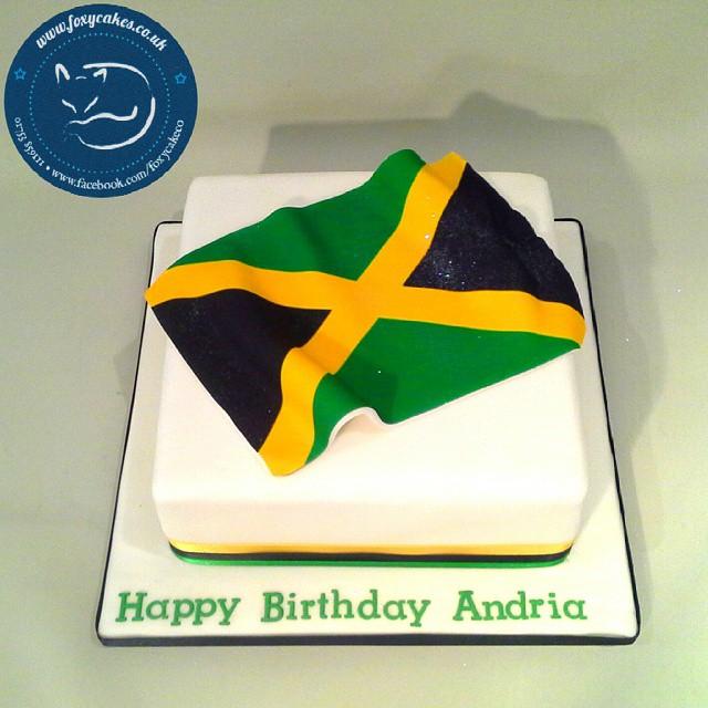 Strange Jamaica Flag Cake Cake Thefoxycakeco Windsor Eton De Flickr Funny Birthday Cards Online Inifodamsfinfo