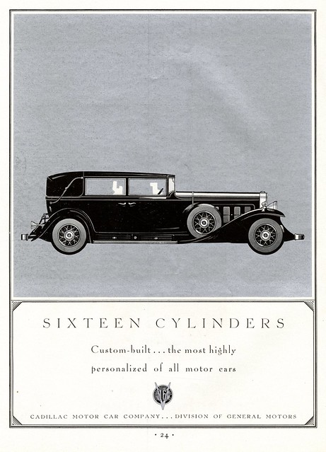 16 Cylinders