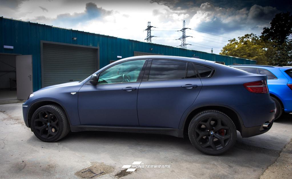 Bmw X6 Matte Dark Blue Navy Wrap Bmw X6 Matte Dark Blue Na Flickr