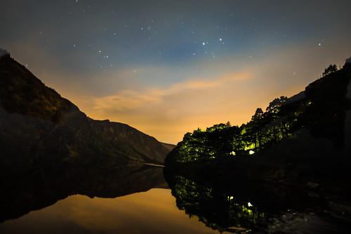 longexposure ireland sunset night stars landscape glendalough wicklow gccouting