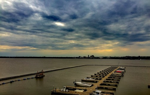 sunset river illinois marine peoria iphone
