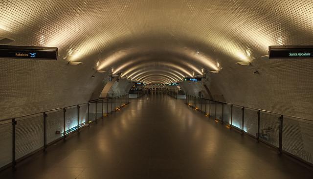 Lisboa - Baixa Metro Station