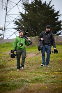 Manfrotto Be Free Tripod ad shoot BTS - San Francisco Twin Peaks | by The Bui Brothers