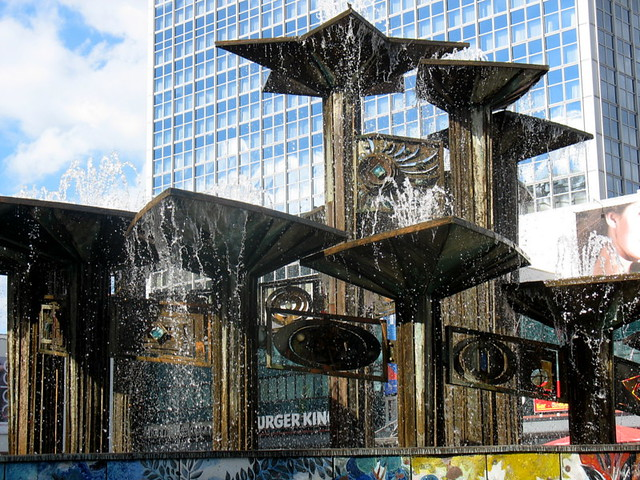 Fountain, Alexanderplatz