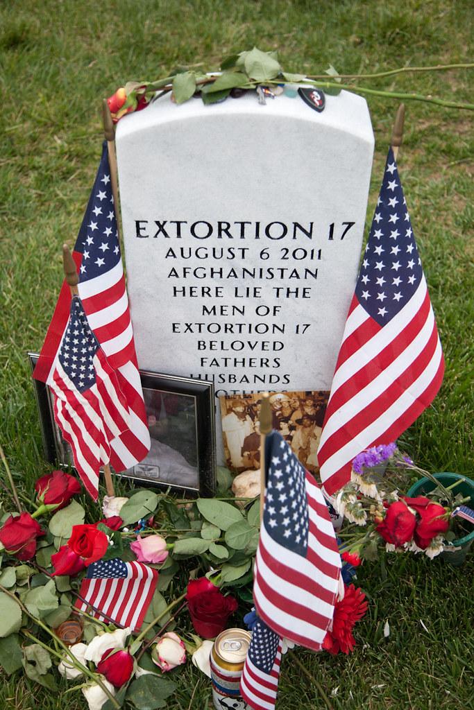 Extortion 17 marker | Date of Crash - 06 AUG 11 B/7-158 AVN