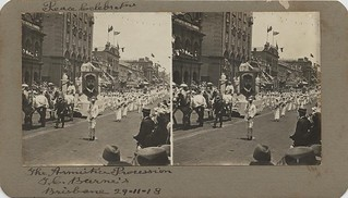 Armistice Procession in Brisbane during Peace celebrations, 1918 002