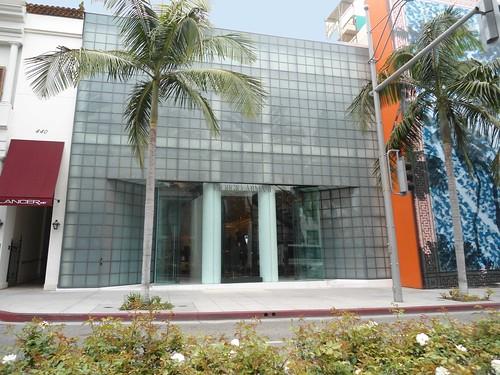 Giorgio Armani Boutique On Rodeo Drive Beverly Hills Ca