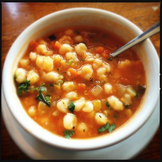 Vegetarian Pozole - Blind Faith | by swanksalot