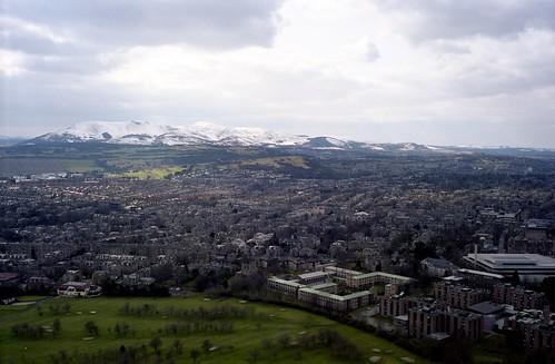 "Image titled ""From Holyrood Park, Edinburgh."""