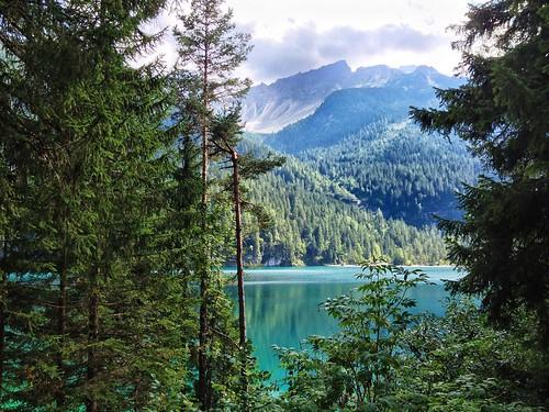 lake lago view alpi tovel