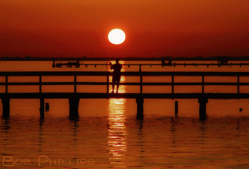 gulfofmexico sunrise pier fishing florida pineisland bokeelia