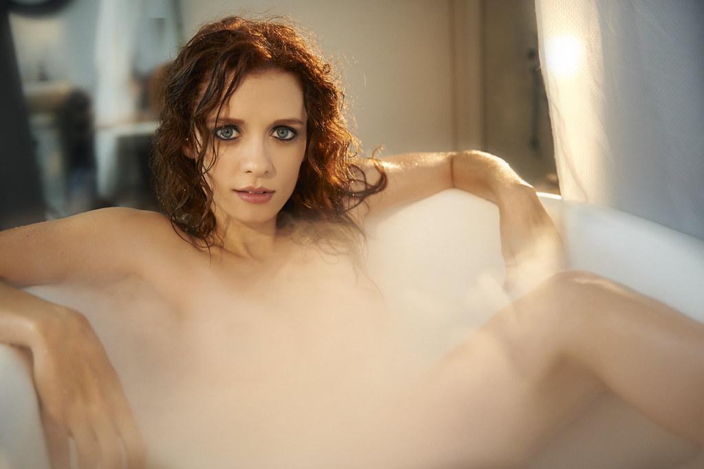 Lara Jean Chorostecki - TJ Scott Photoshoot for In The Tub