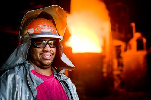 Steel Mill Portraits: Melt Shop | by Entropic Remnants