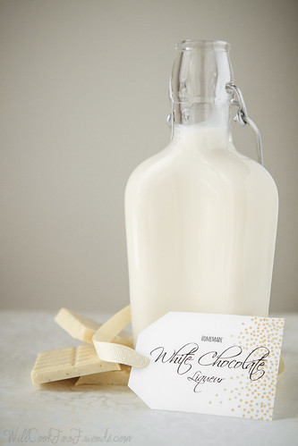Homemade White Chocolate Liqueur | Will Cook For Friends | by WillCookForFriends
