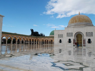 Habib Bourguiba Mausoleum in Monastir, Tunisia - December 2013 | by SaffyH