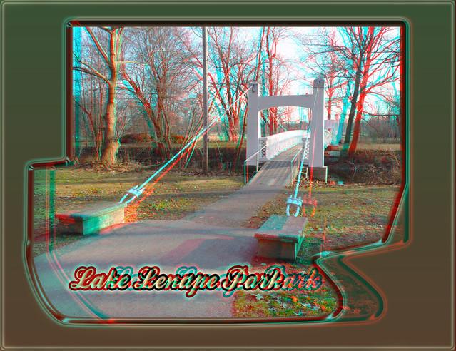 LakeLenapeBridgeAnaglyph3D