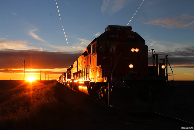 Corp 4074 at Sunset