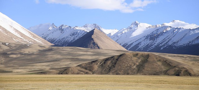 Pamir Mountains Pamir Highway Tajikistan Central Asia