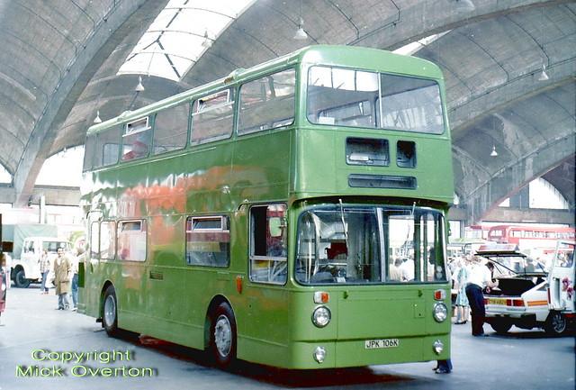 1972 Daimler Fleetline AF6 JPK106K playbus Stockwell 1983 openday